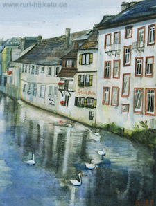 Frankfurt am Main (Aquarell)