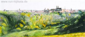 Rothenburg (Aquarell)